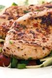 Bifteck de poulet Photographie stock libre de droits