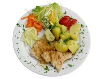 Bifteck de poulet Photo stock