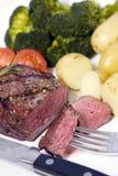 Bifteck de premier aloyau Photos stock