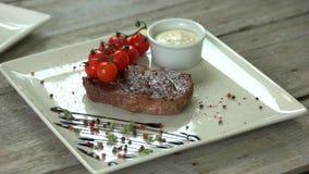 Bifteck de Ribeye avec des épices
