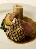 Bifteck de thon Photo stock