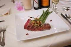 Bifteck de thon photo libre de droits