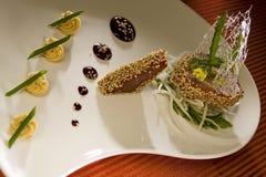 Bifteck de thon de Picled Image stock