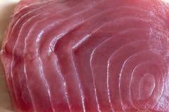 Bifteck de thon de truite saumonnée Photos stock