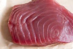 Bifteck de thon de truite saumonnée Photo libre de droits