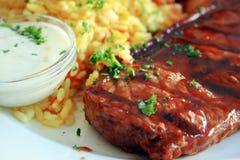 Bifteck de veau Photos libres de droits