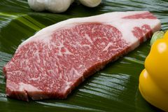 Bifteck de Wagyu Photo libre de droits