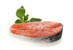 Bifteck des saumons images libres de droits