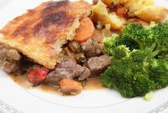 Bifteck et secteur de veg Images stock