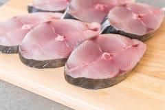 Bifteck frais de maquereau Images stock