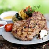 Bifteck grillé Image libre de droits