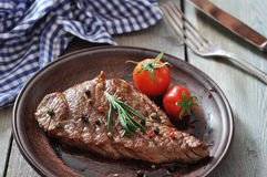 Bifteck grillé Photo libre de droits