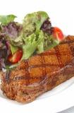 Bifteck grillé - boeuf juteux image stock