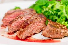 Bifteck grillé d'agneau Image stock