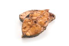 bifteck grillé de maquereau Image libre de droits