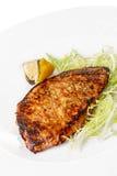 bifteck grillé de porc Photographie stock