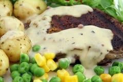 Bifteck grillé sain Photo libre de droits