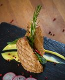 Bifteck grillé de dinde Images stock