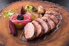 Bifteck juteux de veau photo stock