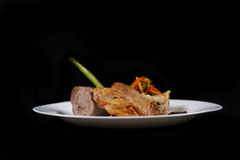 Bifteck pour le dîner Photographie stock libre de droits
