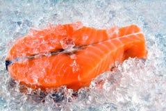 Bifteck saumoné images libres de droits