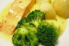 Bifteck saumoné Images stock