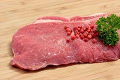 Biftecks photographie stock libre de droits