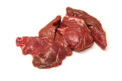 Biftecks crus de viande de kangourou Image stock