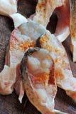 Biftecks d'espadons avec des épices Image stock