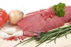 Biftecks de boeuf photos libres de droits