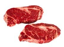 Biftecks de Ribeye Photographie stock libre de droits