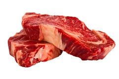 Biftecks de Ribeye Photos stock