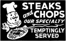 Biftecks et côtelettes 3 Image libre de droits