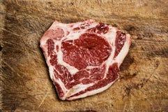 Biftek d'isolement. Photo libre de droits