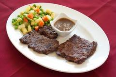 biftek jedzenia libańczyk zdjęcia royalty free