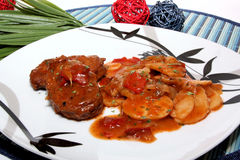 Bifteki Stock Photo
