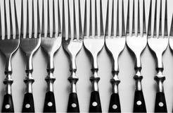 Bifurcación en fila Imagen de archivo libre de regalías