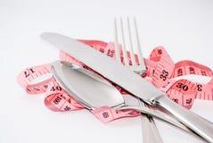 Bifurcación y cuchara Foto de archivo libre de regalías