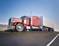 Big 18 wheeler Royalty Free Stock Photo