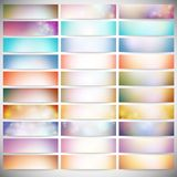 Big Abstract Colored Backgrounds Set. Modern. Modern banners, abstract banner design, business design and website templates vector Vector Illustration