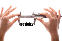 Big activity Royalty Free Stock Photo