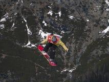 Big air snowboard Royalty Free Stock Photos