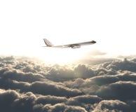 Big airplane Royalty Free Stock Photo
