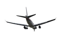 Big airplane isolated Stock Photography