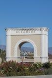 The big Alhambra symbol. Landmark of Los Angeles, California royalty free stock image