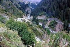 Big Almaty gorge. Royalty Free Stock Photo