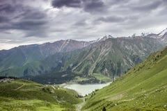Big Almaty Lake Stock Image