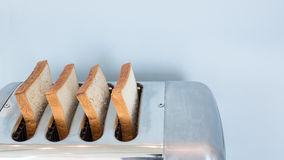 Big Aluminum toaster Stock Image