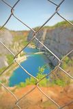 The Big America Quarry in Czech royalty free stock photo