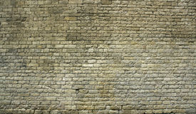 Big ancient brick wall Royalty Free Stock Image